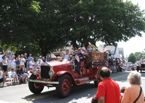 2007 Old fire truck
